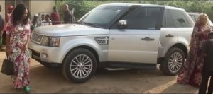 Video: Faithia Balogun & Iyabo Ojo Stepped Out Frm Their RANGE ROVER At D Opening Of Muka Ray